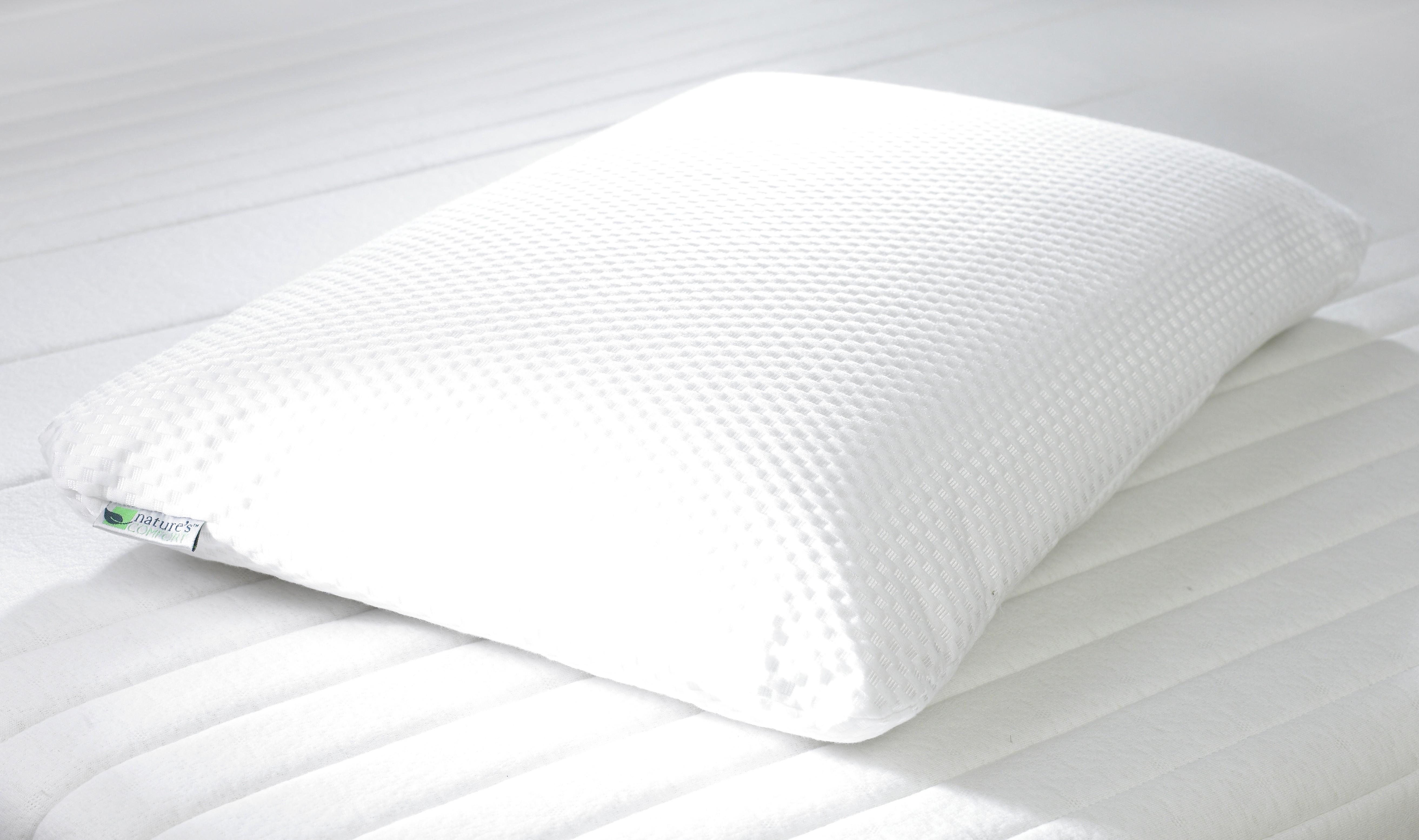 Anatomic sleeping pillow